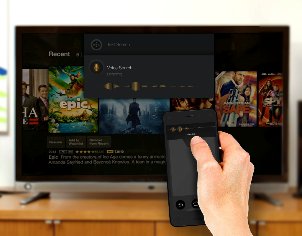Amazon Fire TV mit Android App steuern