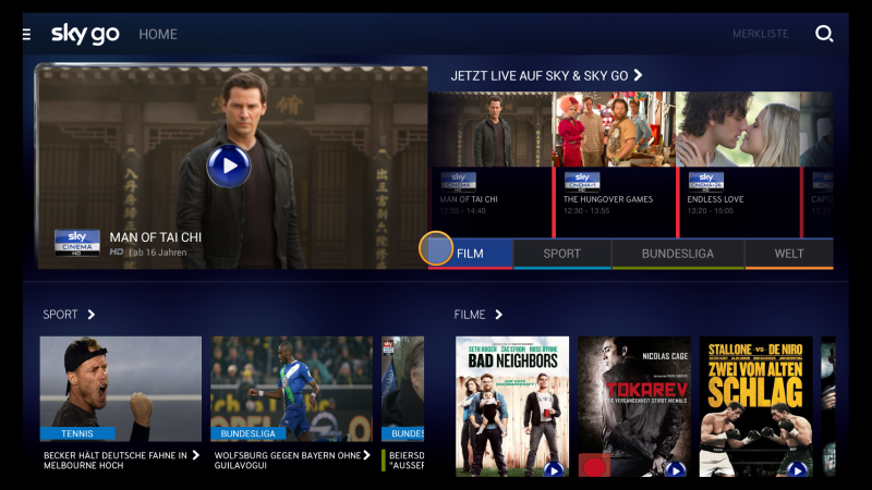 Amazon Fire TV Sky Go