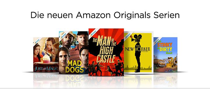 Amazon Pilot Season 2015 Gewinner