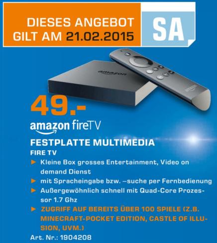 Fire TV günstiger kaufen