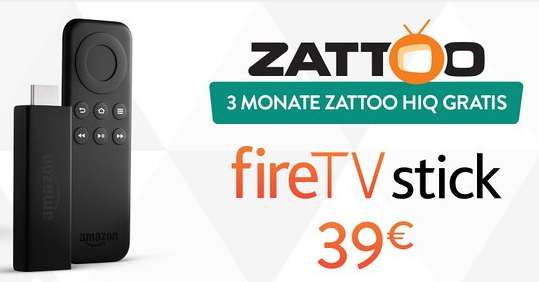 Fire TV Stick Zattoo