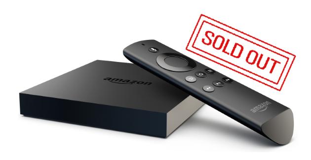 Fire TV derzeit nicht verfügbar