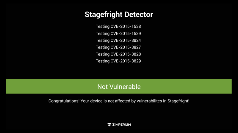 Stagefright Fire TV