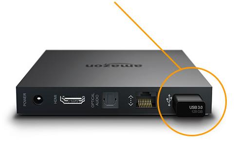 Anleitung: Fire TV Sideloading per USB - Apps über USB auf dem Fire TV installieren
