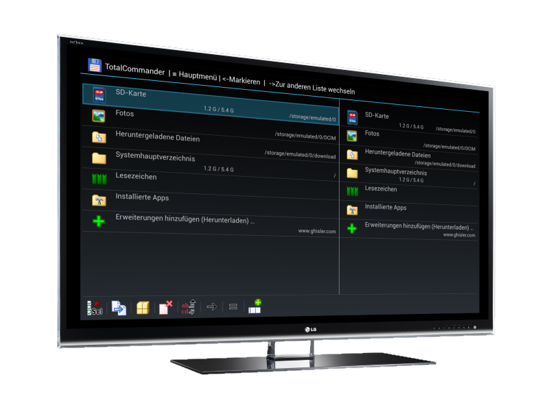 Total Commander: Vollwertiger Dateimanager für Fire TV und Fire TV Stick