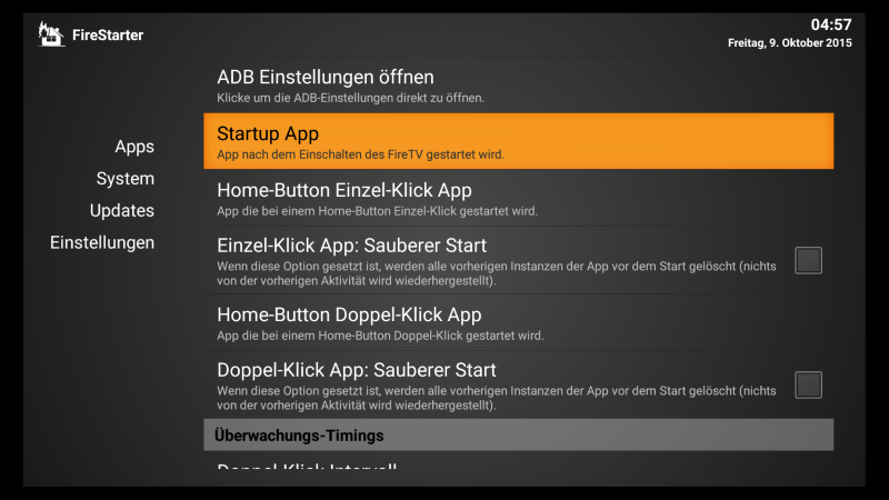 FireStarter 3.0 erschienen: Alternativer Launcher für das Fire TV 2015