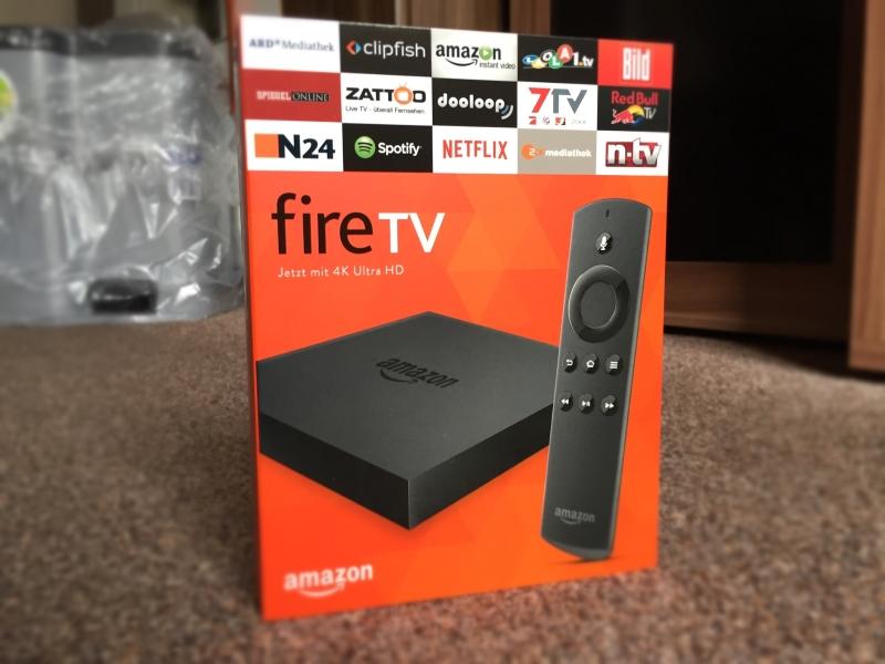 Neues Fire TV 2015: Probleme mit 4K und 5.1 Sound