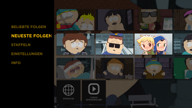 Southpark Fire TV Fire TV Stick