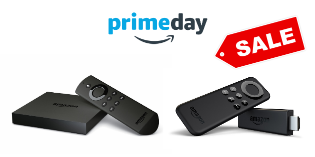 Amazon Prime Day 2016: Fire TV Stick und Fire TV stark reduziert