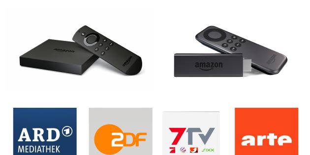 Fire TV & Fire TV Stick: Mediatheken in der Übersicht