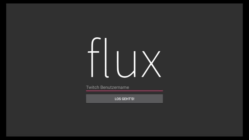 Flux: Die einfache Twitch App für Fire TV & Fire TV Stick