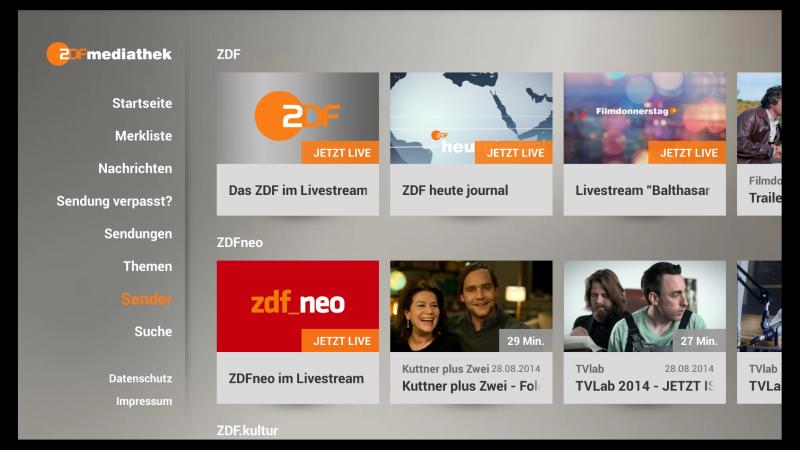 ZDF Mediathek Fire TV