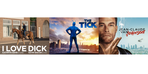 "Grünes Licht nach Pilot Season: Amazon schickt ""I Love Dick"", ""The Tick"" und ""Jean-Claude van Johnson"" in Serie"