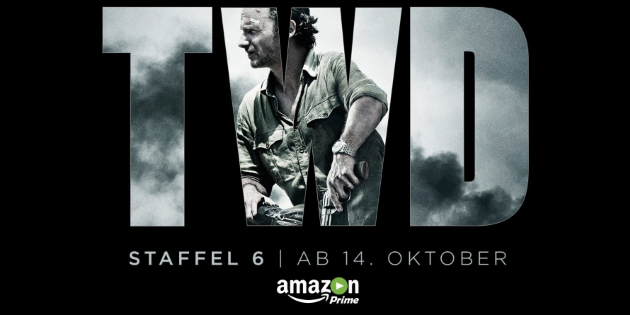 The Walking Dead Staffel 6 ab 14. Oktober bei Amazon Video