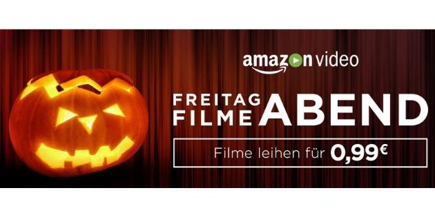Amazon Filmeabend: Halloween Spezial - 50 Filme für jeweils 99 Cent leihen