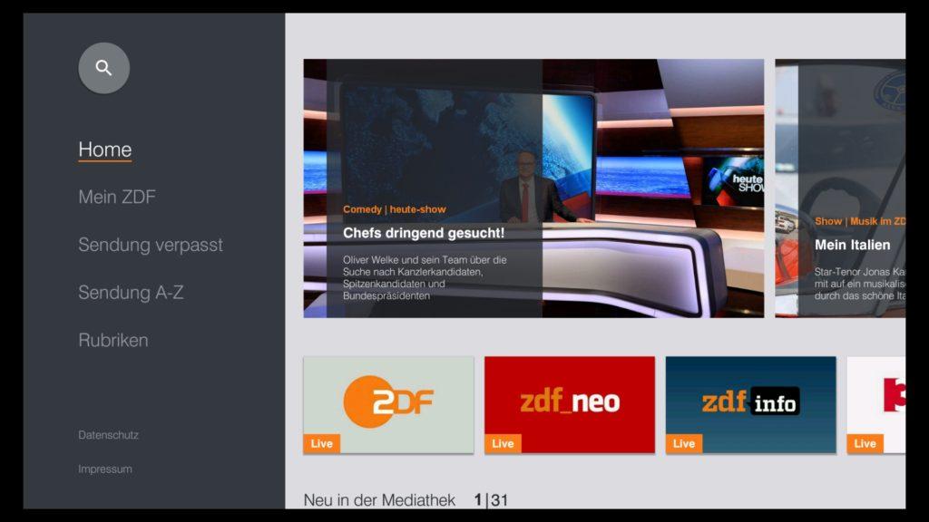ZDF startet neue ZDFmediathek auf dem Fire TV & Fire TV Stick