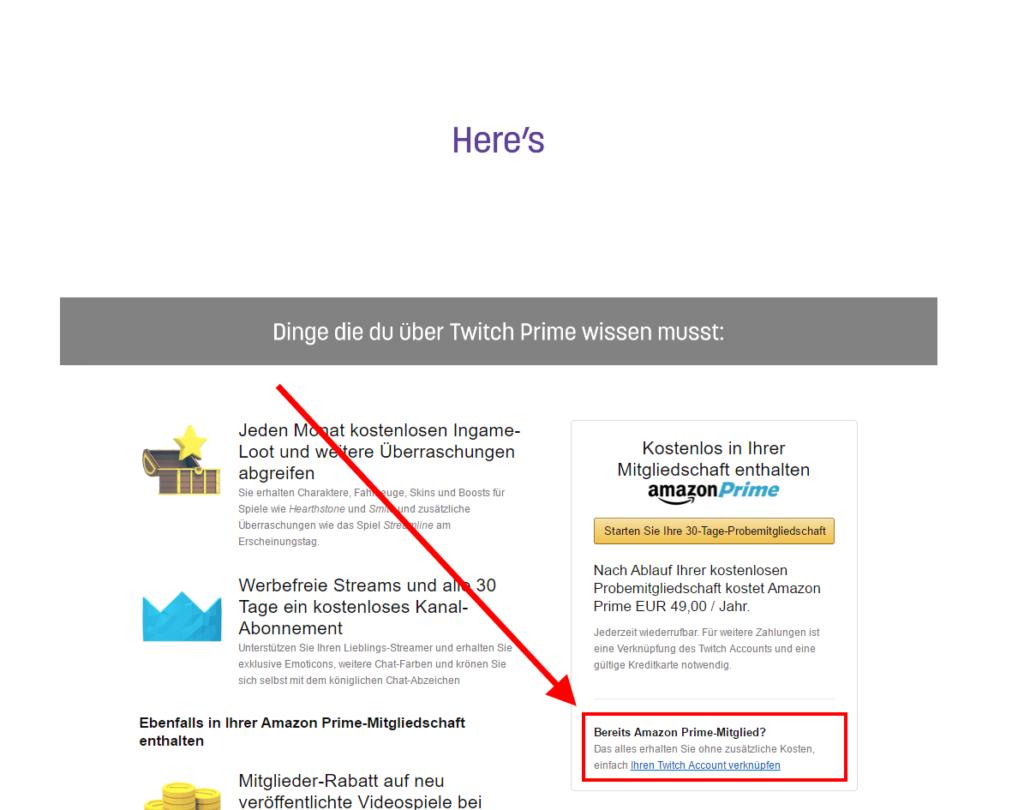 Twitch Prime: Gratis-Abos und weitere Vorteile - kostenlos für Prime-Mitglieder