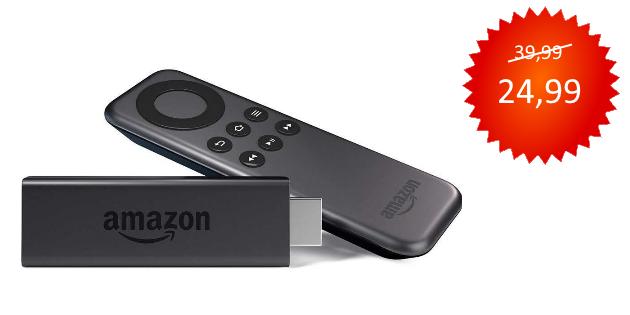 Amazon Cyber Monday 2016: Fire TV Stick kräftig reduziert