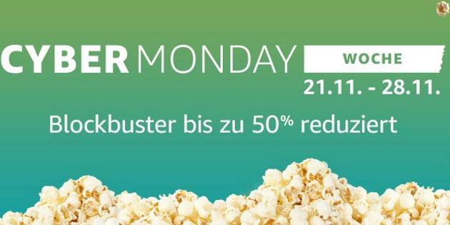 Cyber Monday: Noch einmal 17 Filme stark reduziert (inkl. aktueller Titel)