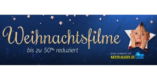 Amazon Video: Viele verschiedene Weihnachtsfilme kräftig reduziert