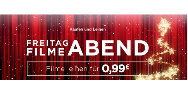 Filmeabend bei Amazon Video: 24 Filme für je 99 Cent