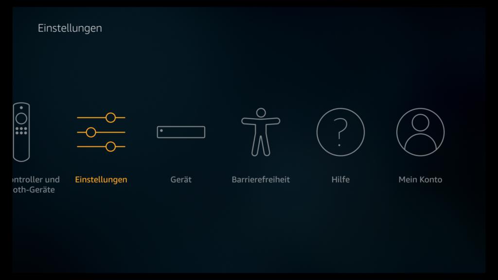 Autoplay auf der Startseite der neuen Fire TV Oberfläche abschalten