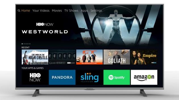 Fire OS kommt als Smart TV-System auf TV-Geräte
