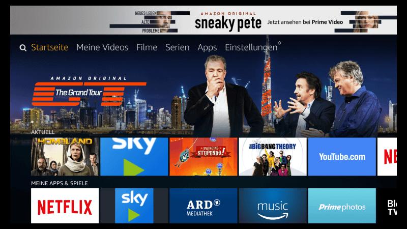 Software Update 5.2.4.1 bringt Alexa und die neue Oberfläche auf alle Fire TV-Geräte