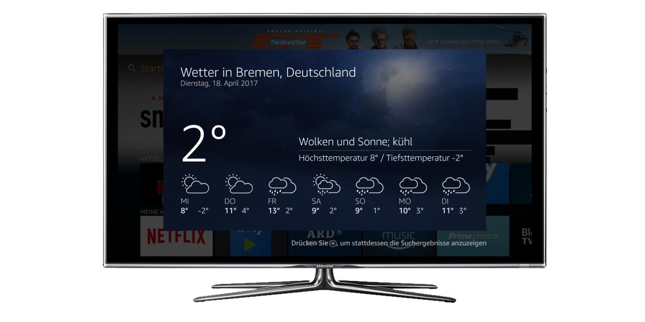 Software Update 5.4.2.1 mit Alexa wird in Deutschland verteilt