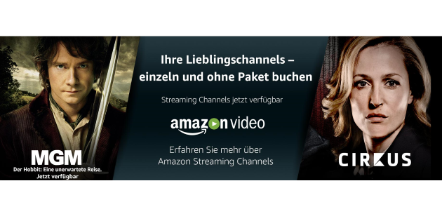 Amazon Channels startet in Deutschland: Pay TV-Kanäle ab 1,99 € zubuchbar