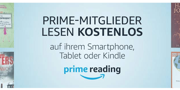 prime reading mit kindle