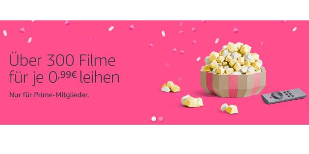 Filmfreitag im XXL-Format: 300 Filme für jeweils nur 99 Cent leihen!