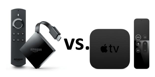 Das neue Fire TV mit 4K Ultra HD vs. Apple TV 4K: Die beiden Streaming Adapter im Vergleich