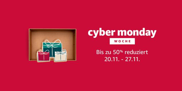 Amazon Cyber Monday Woche 2017: Die interessanten Angebote des 1. Tages im Überblick