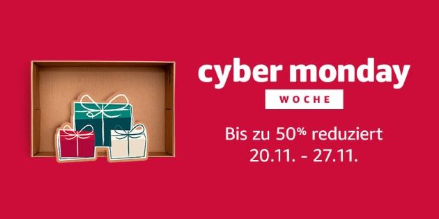 Amazon Cyber Monday Woche 2017: Fire TV, Echo und viele weitere Angebote