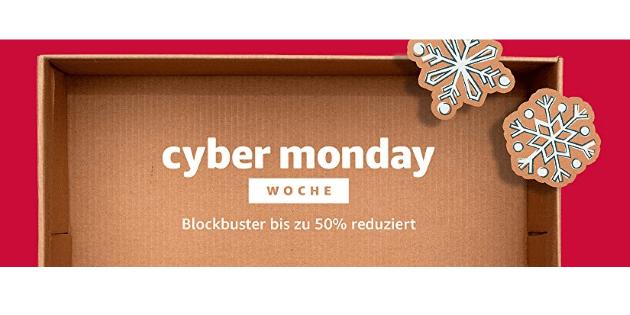 Cyber Monday Woche: Nochmal viele Blockbuster und Serien deutlich reduziert bei Amazon Video