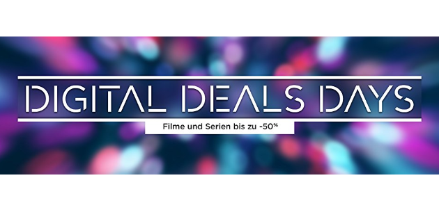 Digital Deals Days: Mehr als 1000 Filme und Serien kräftig reduziert