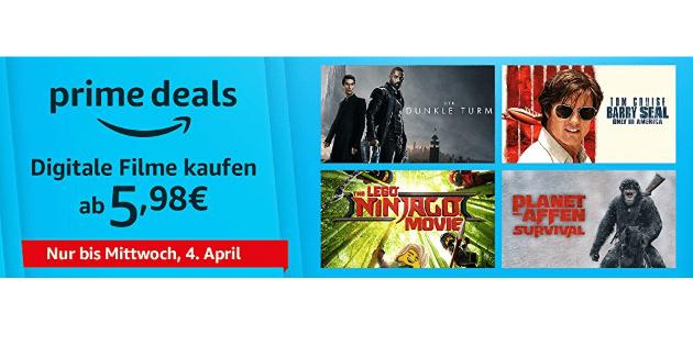 Prime Deals: Zehn verschiedene ab jeweils nur 5,98 Euro
