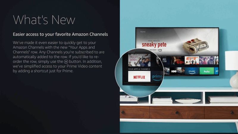 Neues Fire TV Update rückt die Amazon Channels in den Fokus
