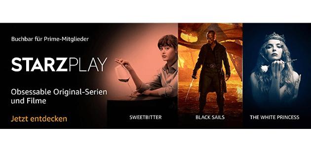 STARZPLAY: Neuer Prime Video Channel für Film- und Serienfans