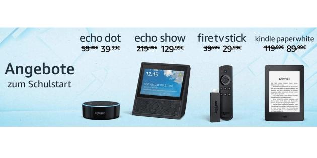 Fire TV, Fire TV Stick und viele weitere Amazon-Gerät reduziert