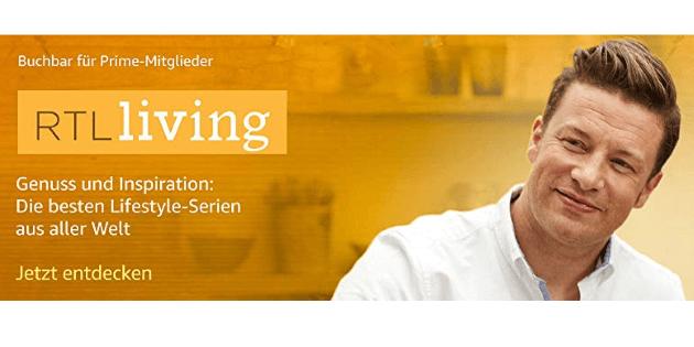 RTL Living ab sofort als Prime Video Channel buchbar