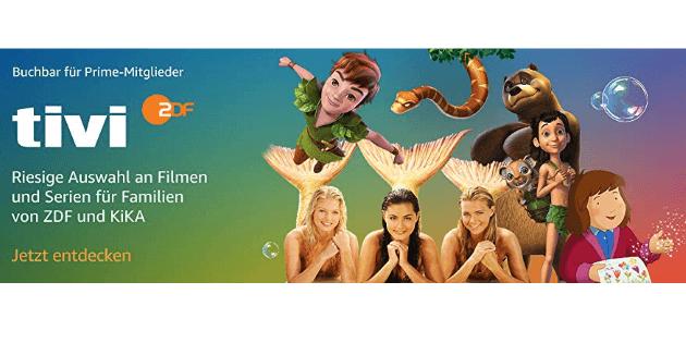 ZDFtivi: Neuer Prime Video Channel für den Nachwuchs