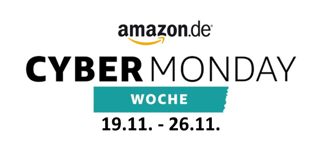 Amazon Cyber Monday Woche 2018 startet am 19. November