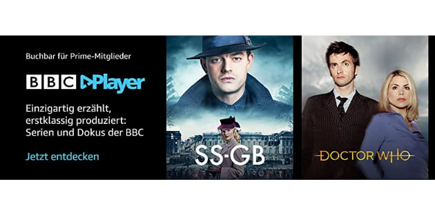 Doctor Who, Top Gear und mehr: BBC Player ab sofort als Amazon Prime Video Channel buchbar