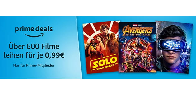 Filmfreitag XXL: Über 600 (!) Filme leihen für je nur 99 Cent