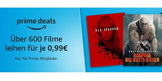 Prime Deals XXL: Über 600 Filme für jeweils nur 99 Cent leihen!