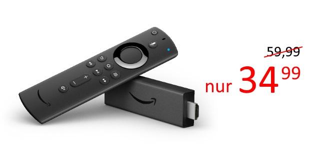 Knaller! Der neue Fire TV Stick 4K für nur 34,99 €