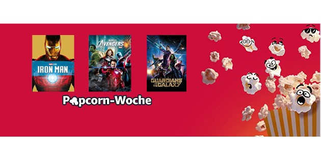 Popcorn-Woche: 14 Marvel-Filme für jeweils nur 1,98 € leihen
