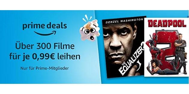 Popcorn Woche: Über 300 Filme für jeweils nur 0,99 € leihen